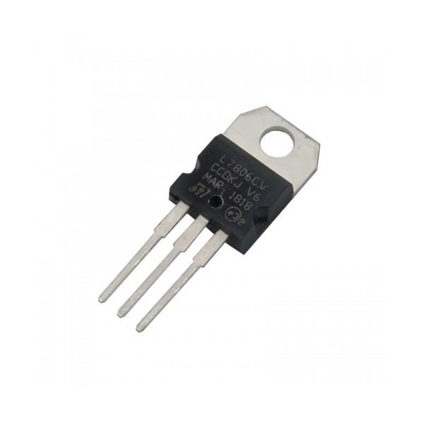 آی سی اس تی مایکروالکترونیکس مدل L7806CV
