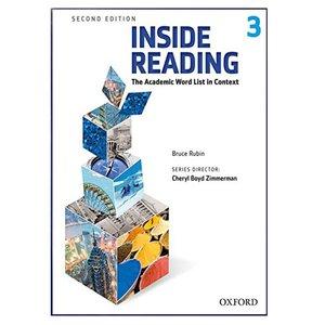 کتاب Inside Reading 2nd 3 اثر Bruce Rubin انتشارات هدف نوین