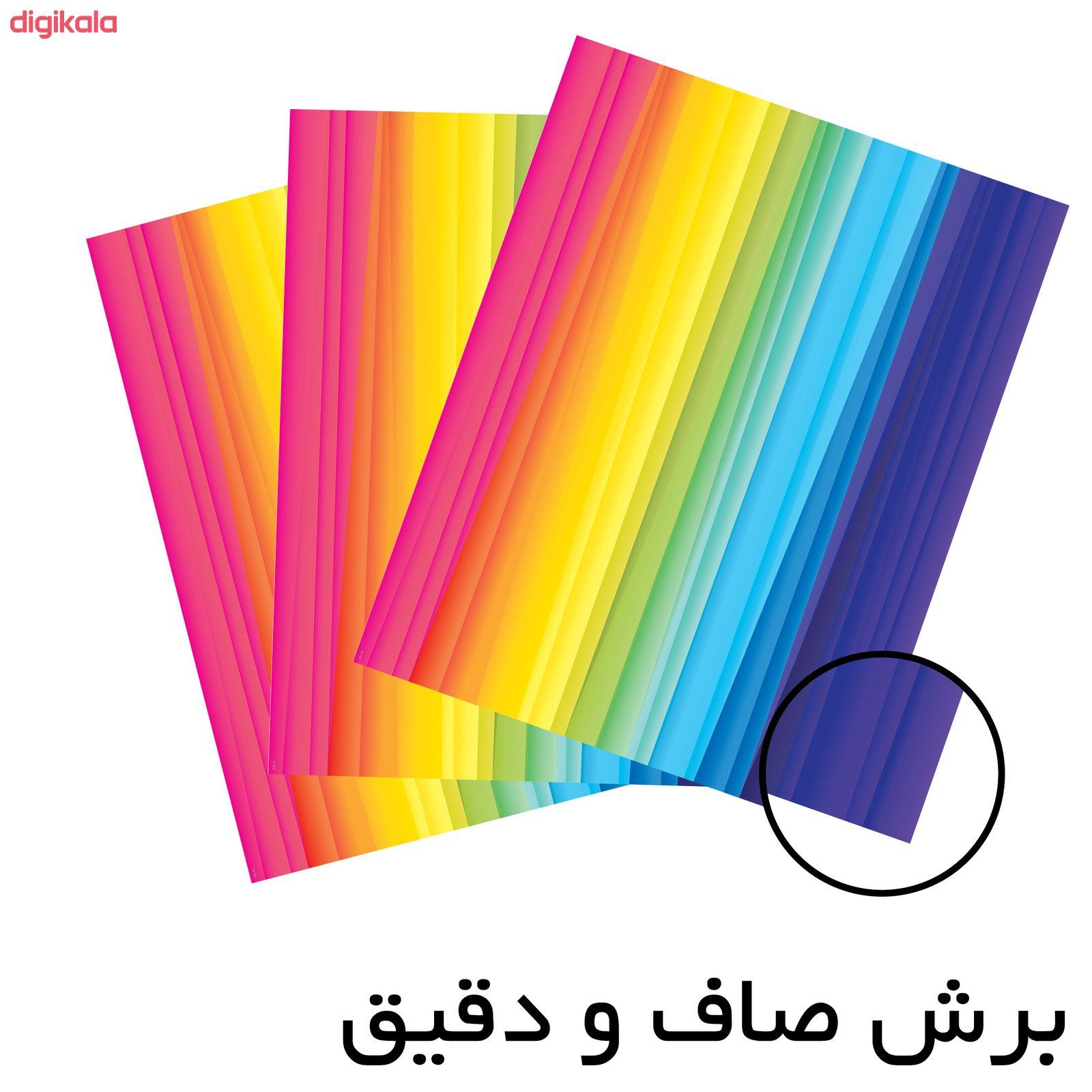 کاغذ رنگی A4 مستر راد مدل رنگارنگ بسته 10 عددی main 1 6