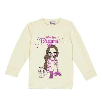 تی شرت دخترانه کد T9913-1