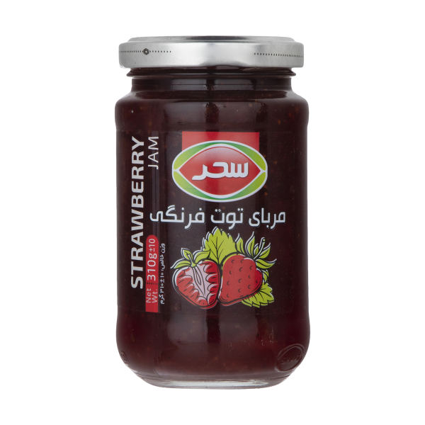 مربای توت فرنگی سحر - 310 گرم