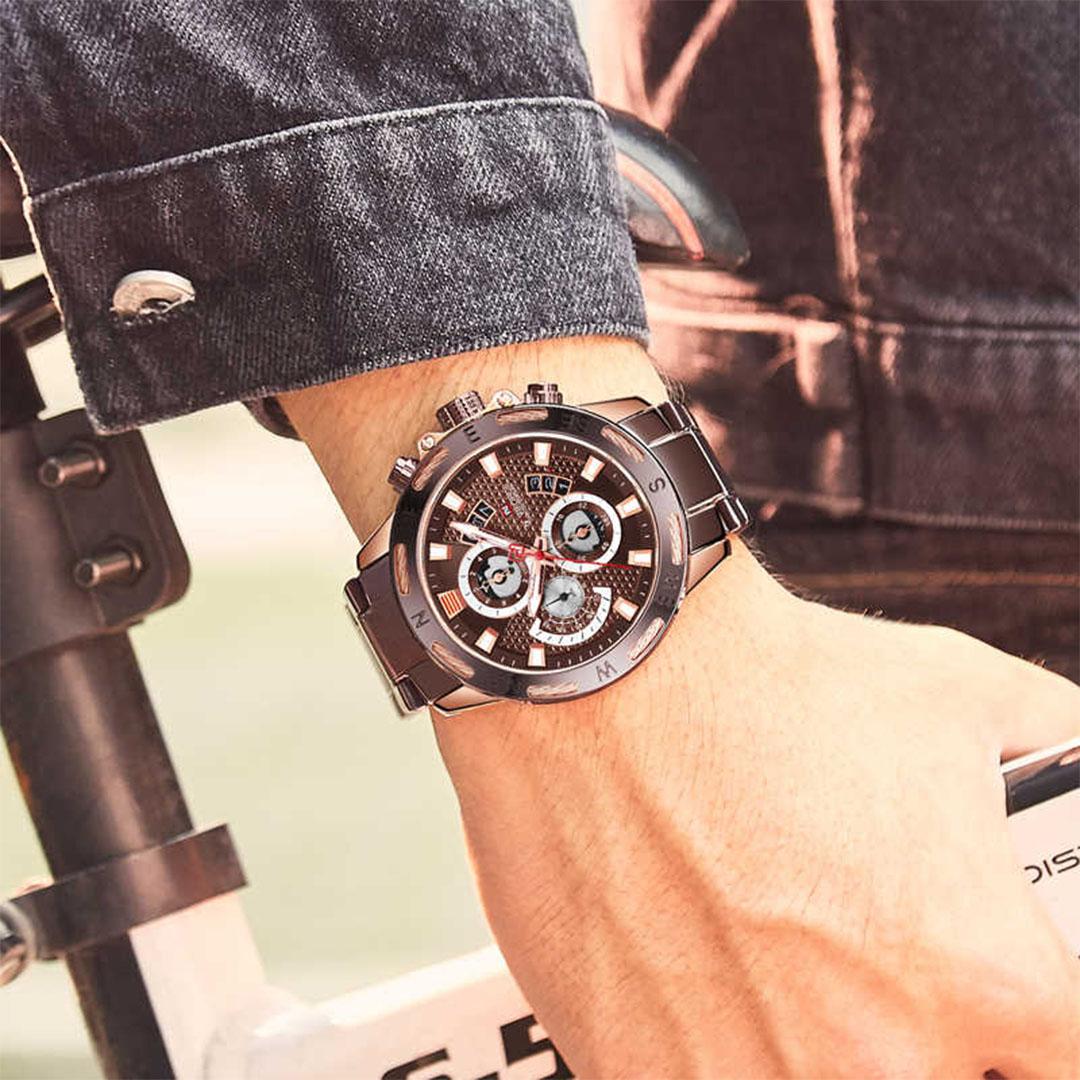 ساعت مچی عقربهای مردانه نیوی فورس مدل 65895