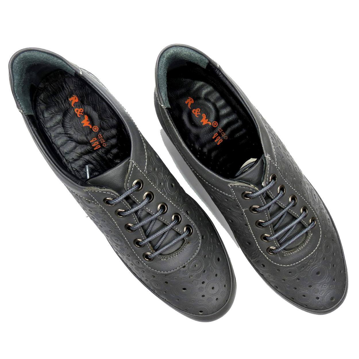 کفش روزمره زنانه آر اند دبلیو مدل 538 رنگ طوسی -  - 8