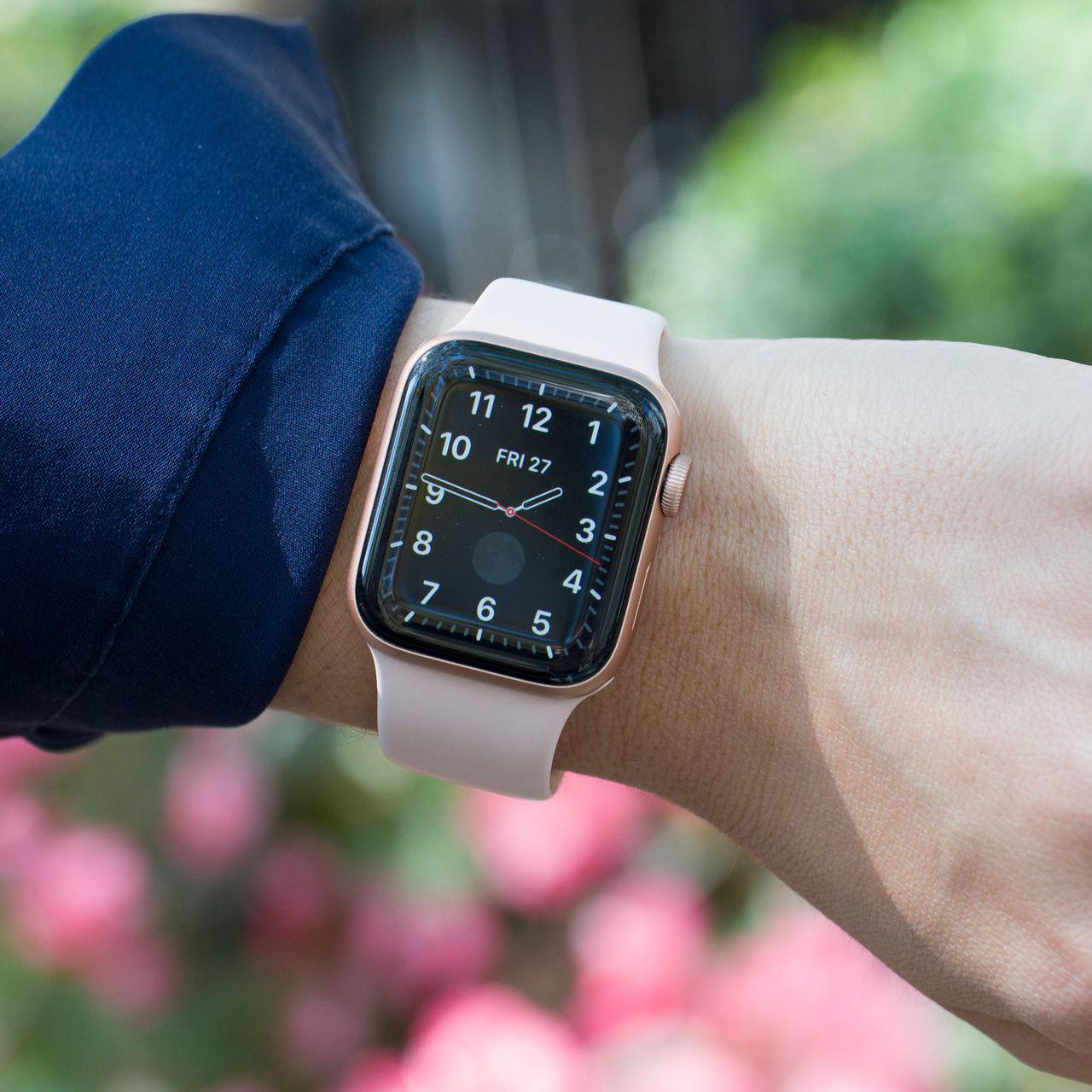 ساعت هوشمند اپل واچ سری 5 مدل 44m Space  Aluminum Case  Sport Band main 1 34