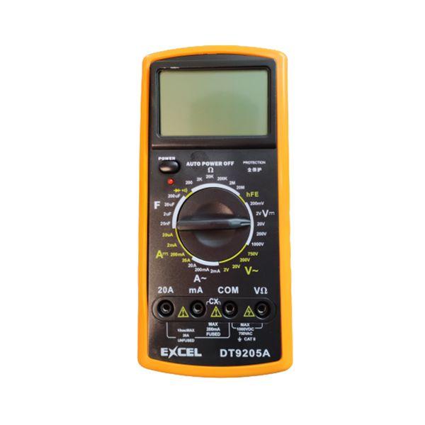 مولتی متر دیجیتال اکسل مدل DT9205A