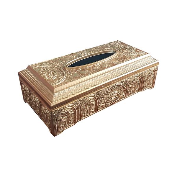 جعبه دستمال کاغذی مدل بته جقه کد 1008