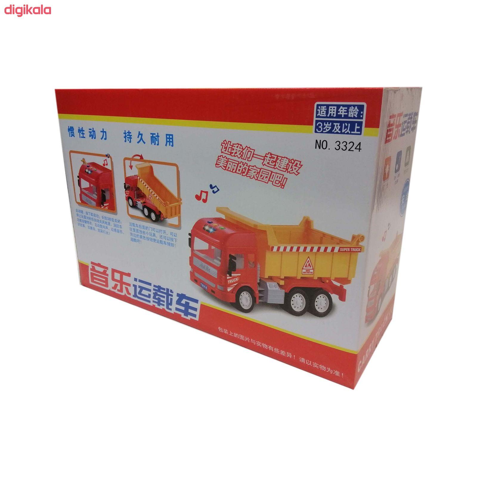 ماشین بازی جین لینگ گوو طرح کمپرسی کد NO.3323