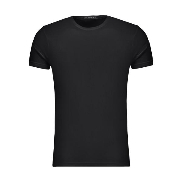 تیشرت آستین کوتاه مردانه ادورا مدل 29915031 رنگ مشکی