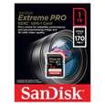 کارت حافظه SDXC سن دیسک مدل Extreme Pro V30 کلاس 10 استاندارد UHS-I U3 سرعت 170mbps ظرفیت 1 ترابایت thumb 1