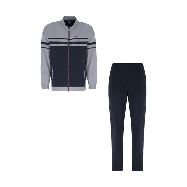 ست سویشرت و شلوار ورزشی مردانه بیلسی کد 2002 رنگ طوسی
