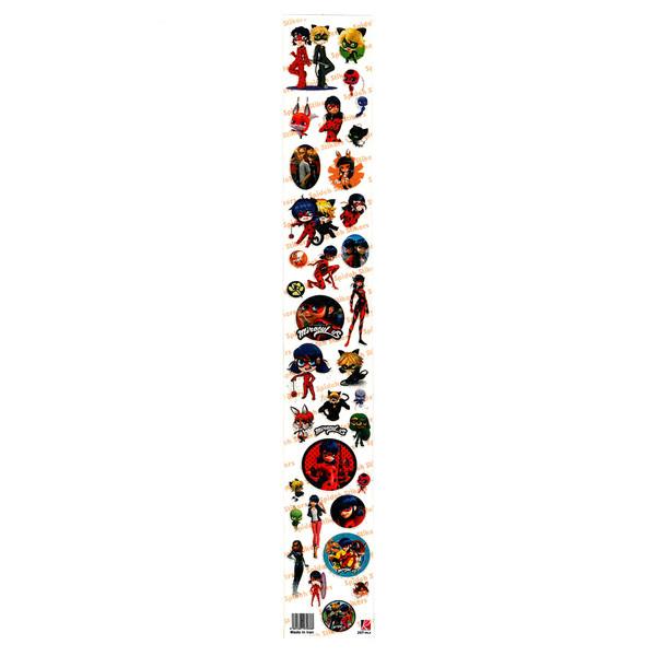 استیکر  کودک طرحدختر کفشدوزکی کد 020
