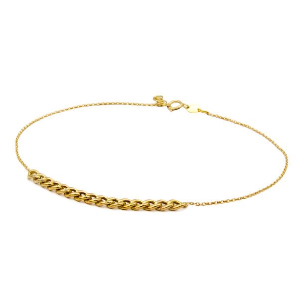 پابند طلا 18 عیار زنانه کاپانی کد KA001