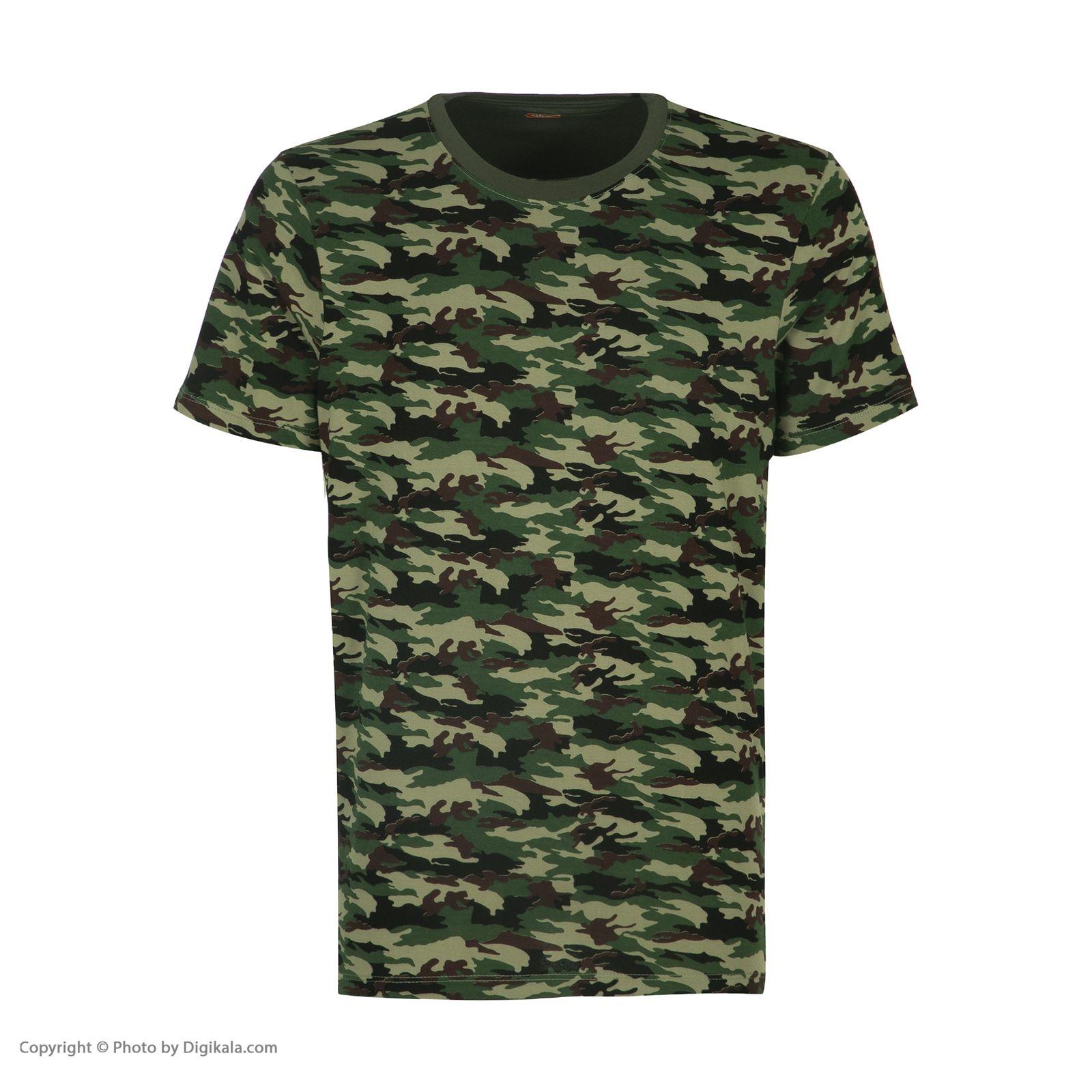 ست تی شرت و شلوارک راحتی مردانه مادر مدل 2041108-49 -  - 4
