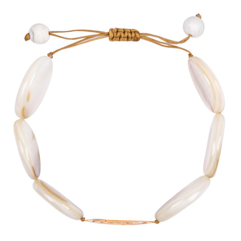 دستبند طلا 18 عیار زنانه ریسه گالری مدل S1250