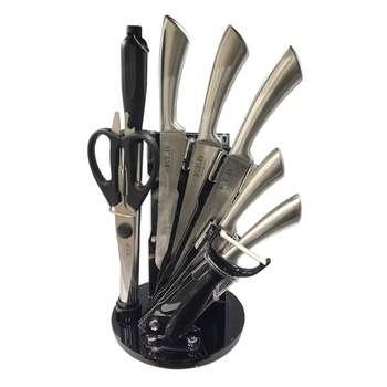 سرویس چاقو آشپزخانه 9 پارچه اف تی دی کد KB019-1