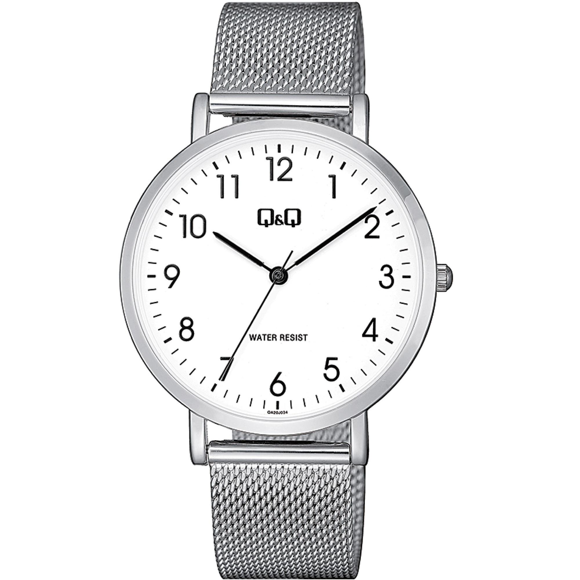 ساعت مچی عقربه ای مردانه کیو اند کیو مدل QA20J234Y              خرید (⭐️⭐️⭐️)
