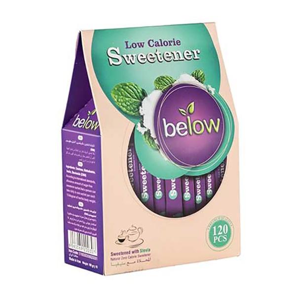ساشه شیرین کننده کم کالری بیلو بسته 120 عددی
