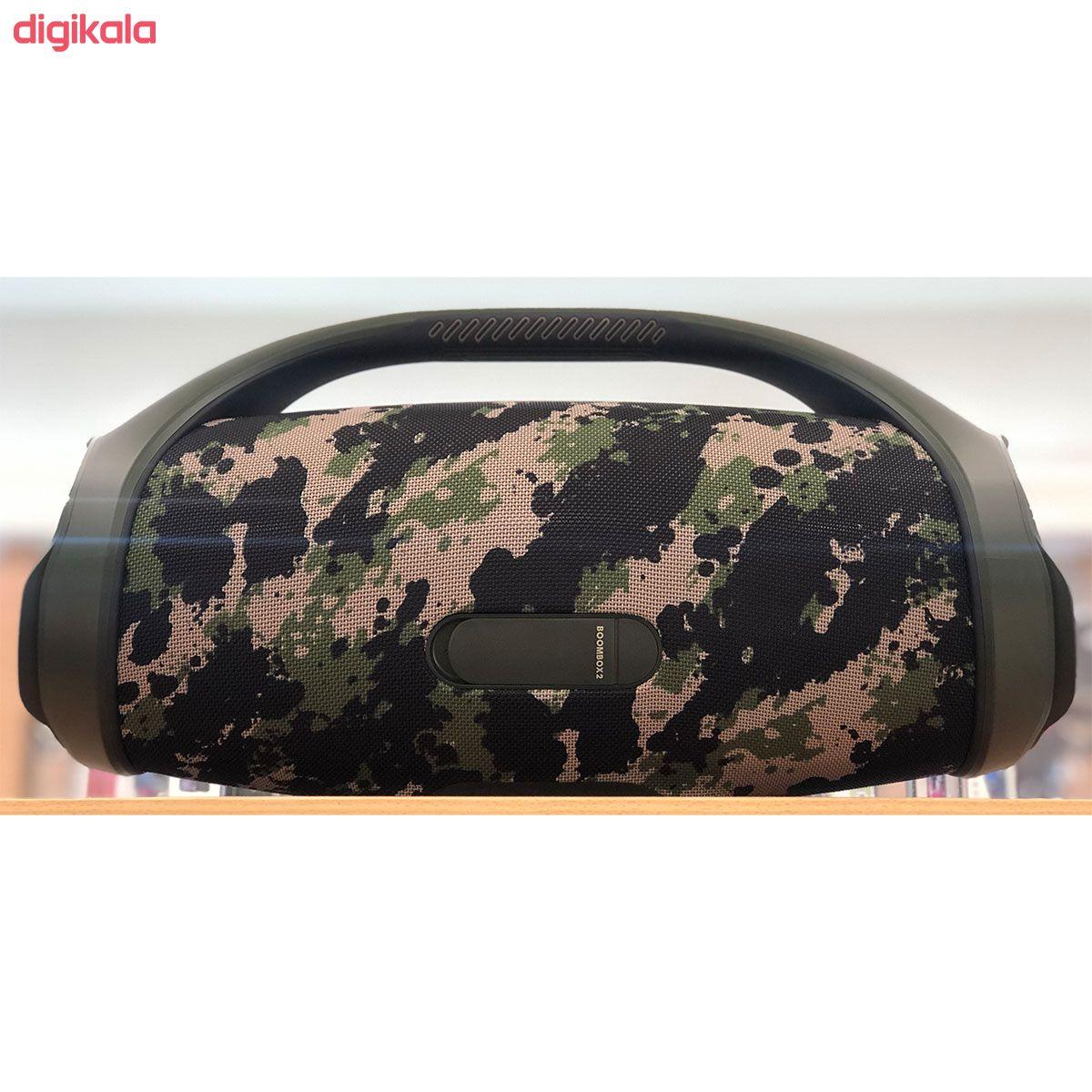 اسپیکر بلوتوثی قابل حمل جی بی ال مدل BoomBox 2 main 1 7