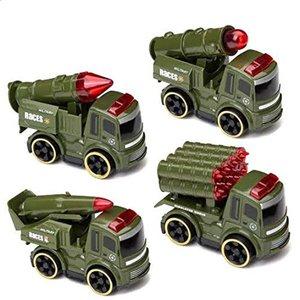 اسباب بازی جنگی  مدل ماشین کد 6699 مجموعه 4 عددی