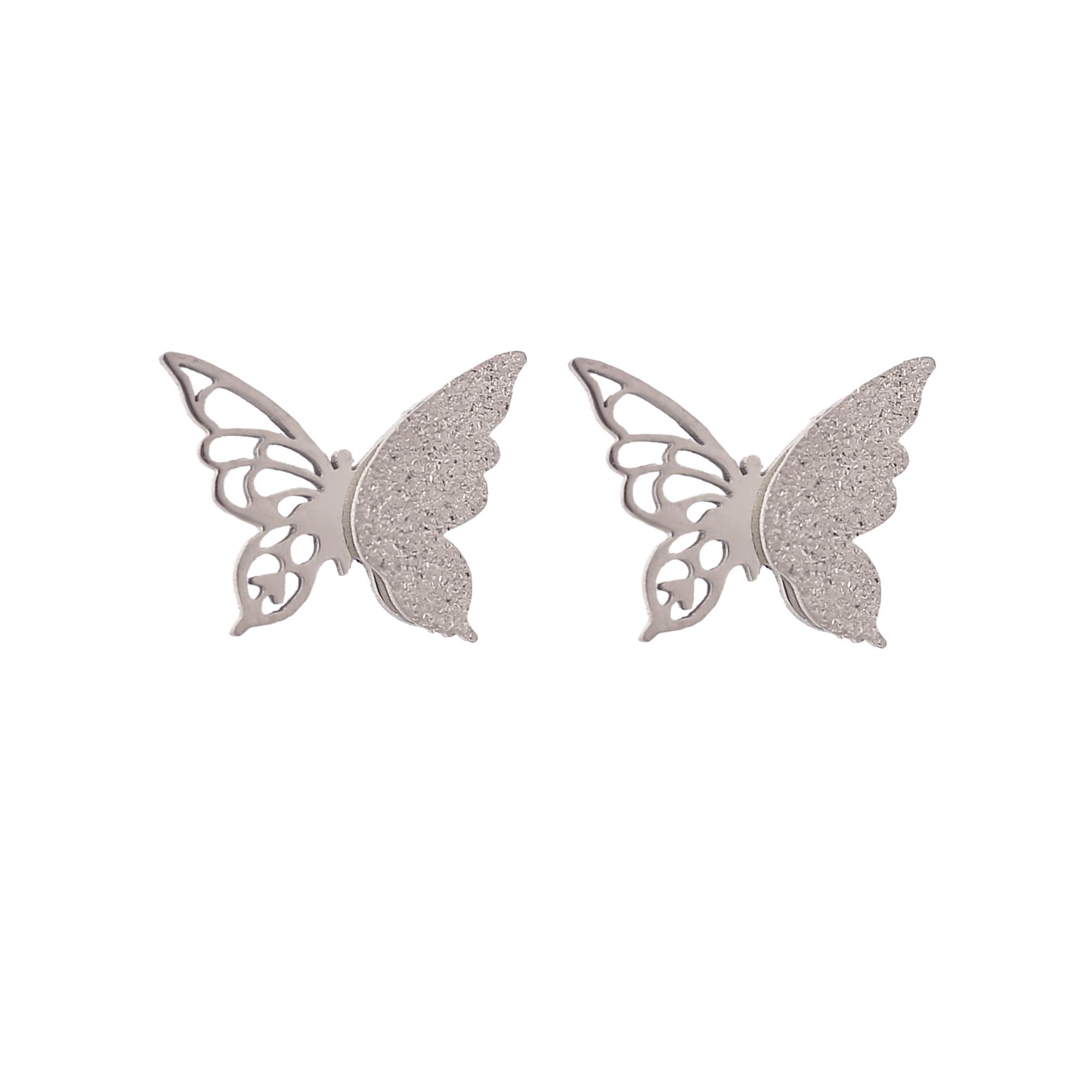 گوشواره  زنانه  طرح  پروانه