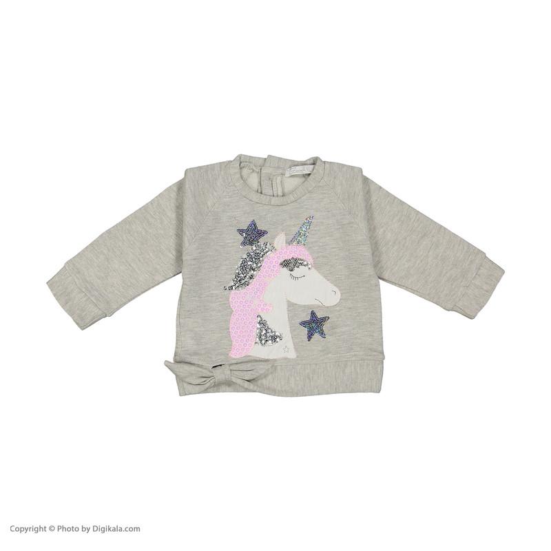 ست تی شرت و شلوار دخترانه فیورلا مدل 20516