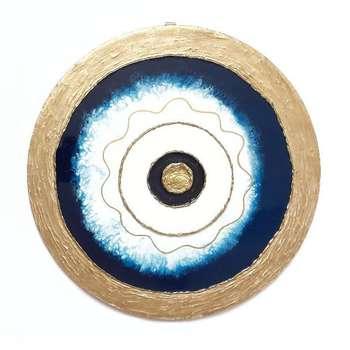 تابلو رزین مدل چشم نظر کد C1