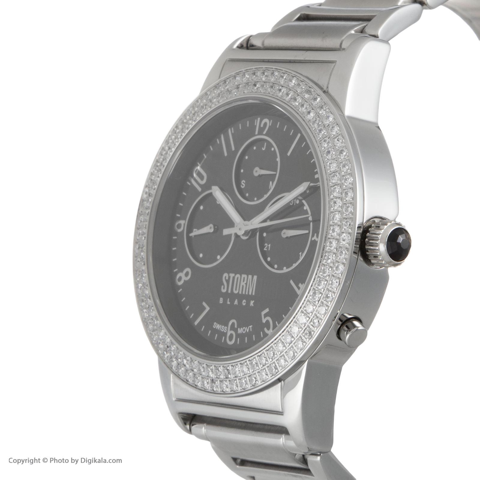 ساعت مچی عقربه ای زنانه استورم مدل ST 47132-BK -  - 5
