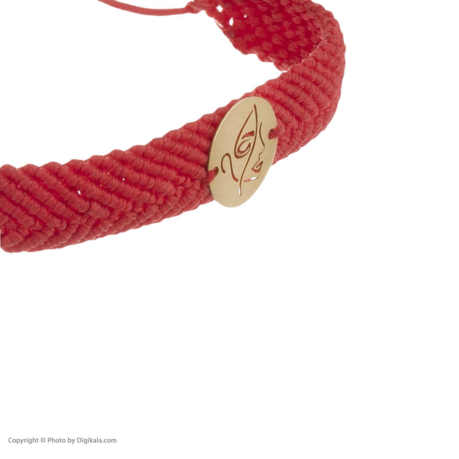 دستبند طلا 18 عیار زنانه آبستره مدل D04 -  - 4