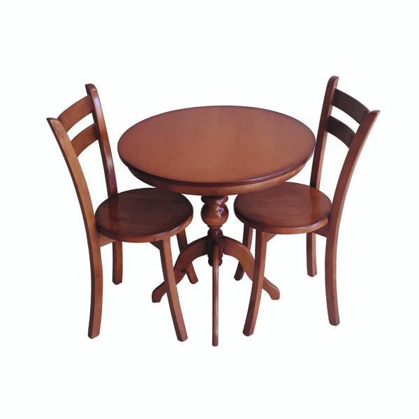 میز و صندلی ناهارخوری دو نفره مدل ترنج