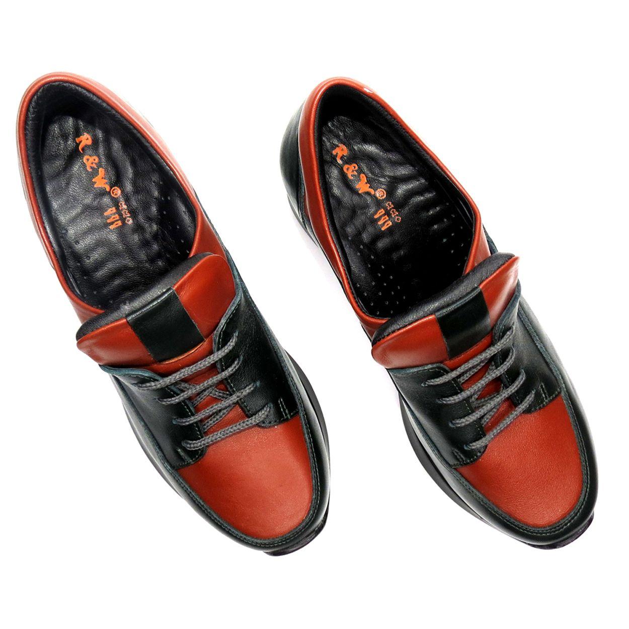 کفش روزمره زنانه آر اند دبلیو مدل 416 رنگ یشمی -  - 7