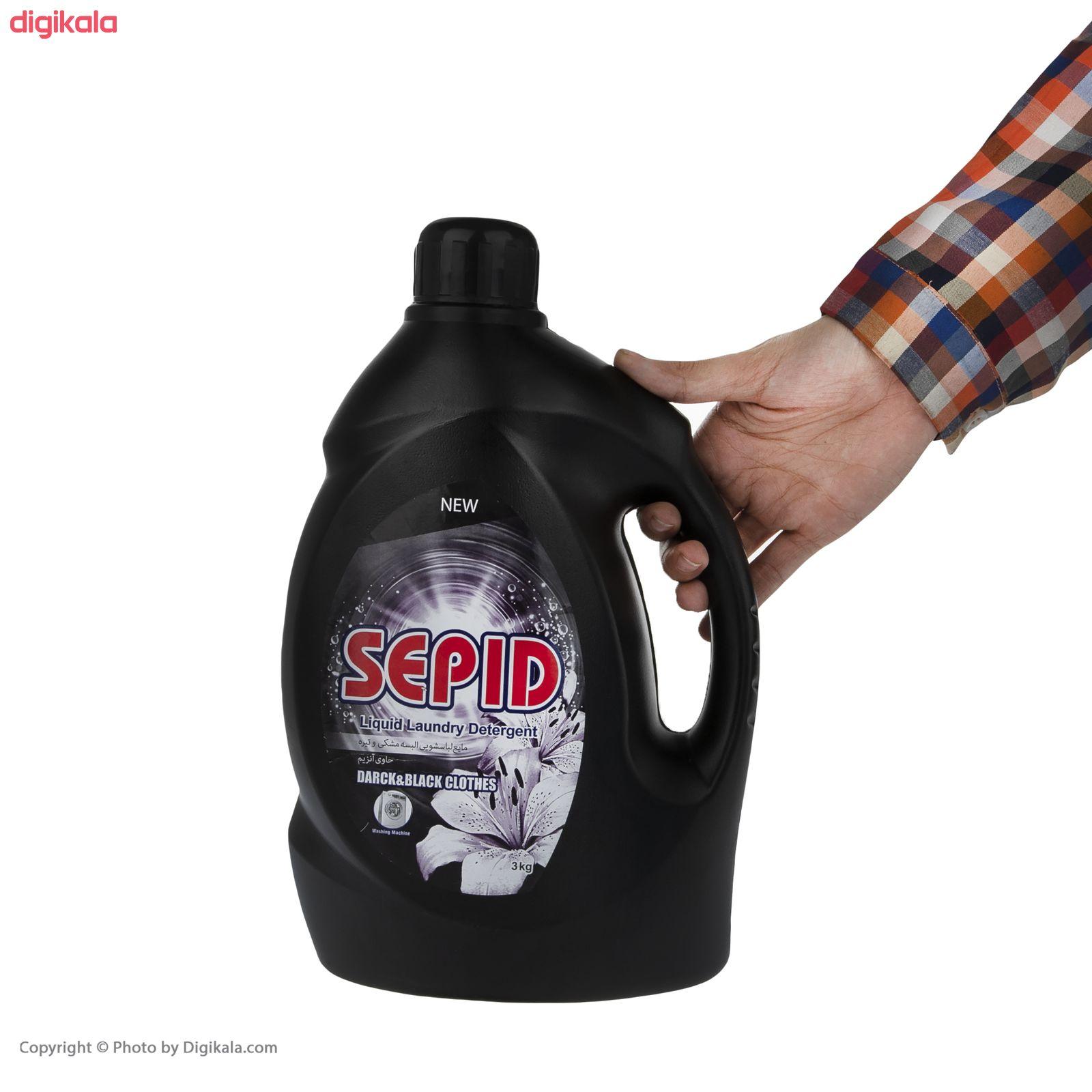 مایع لباسشویی مشکی سپید مقدار 3 کیلوگرم main 1 3