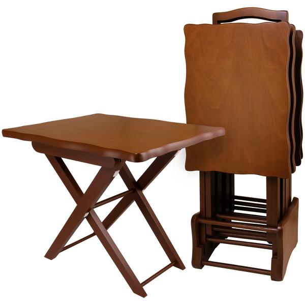 میز عسلی مدل بونل کد  2100  بسته چهار عددی