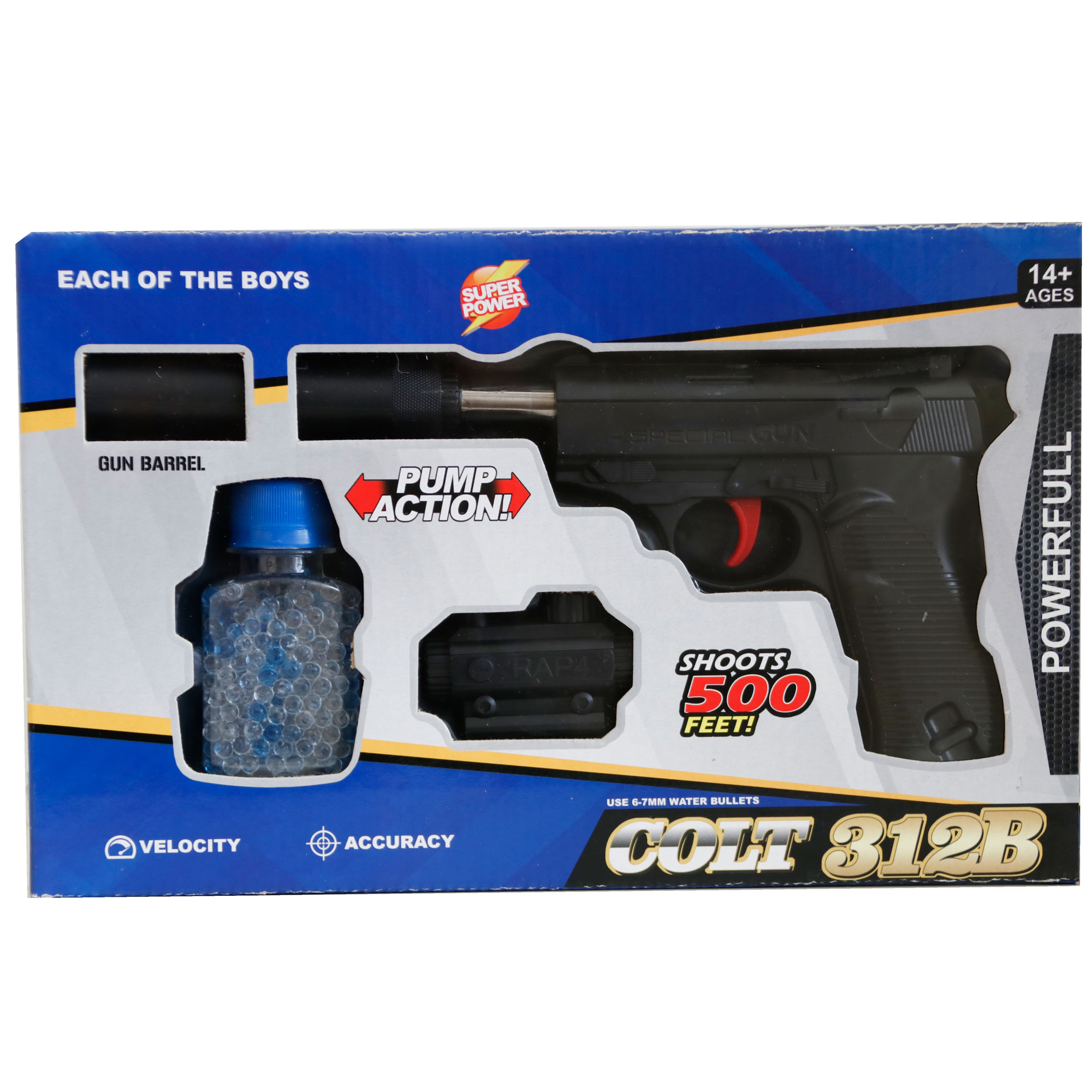 خرید                     تفنگ بازی مدل کلت