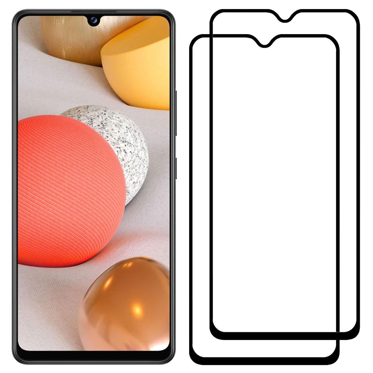 محافظ صفحه نمایش مدل FCG مناسب برای گوشی موبایل سامسونگ Galaxy A42 بسته دو عددی