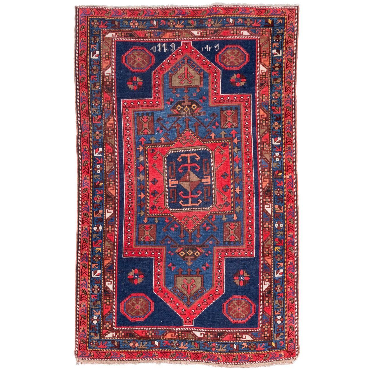 فرش دستباف قدیمی دو متری سی پرشیا کد 102354