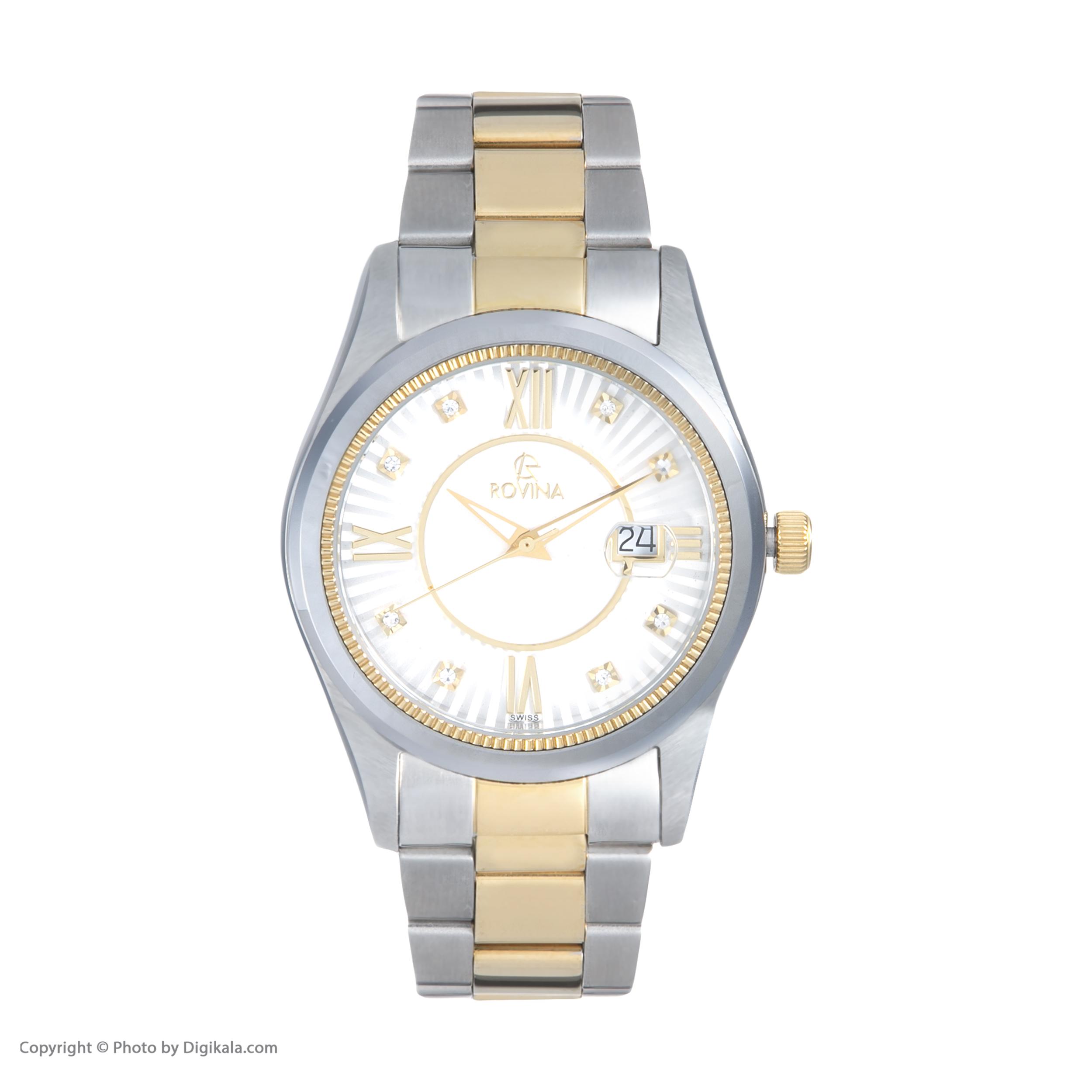 خرید و قیمت                      ساعت مچی  زنانه روینا مدل 22152-L2BW