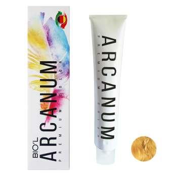 رنگ مو بیول مدل Arcanum شماره 9.8 حجم 120 میلی لیتر رنگ بلوند شکلاتی بسیار روشن