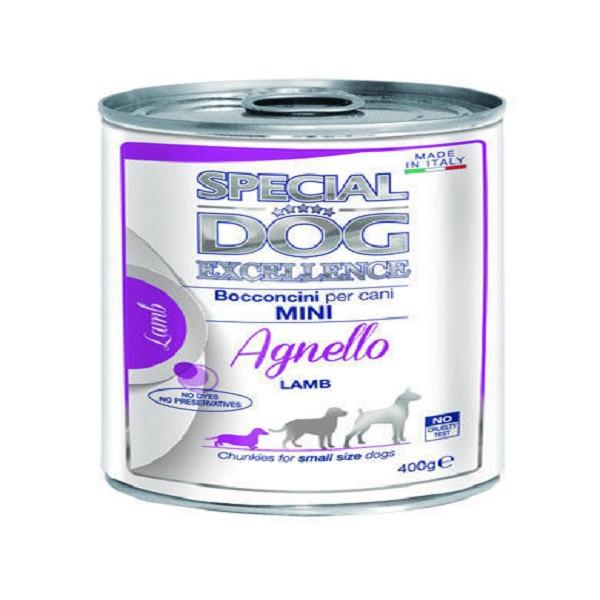 کنسرو غذای سگ اسپشیال داگ مدل mini lamb وزن 400 گرم