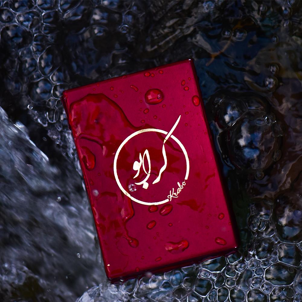 دستبند طلا 18 عیار زنانه کرابو طرح حرف ف مدل Kr1875 thumb 2 3