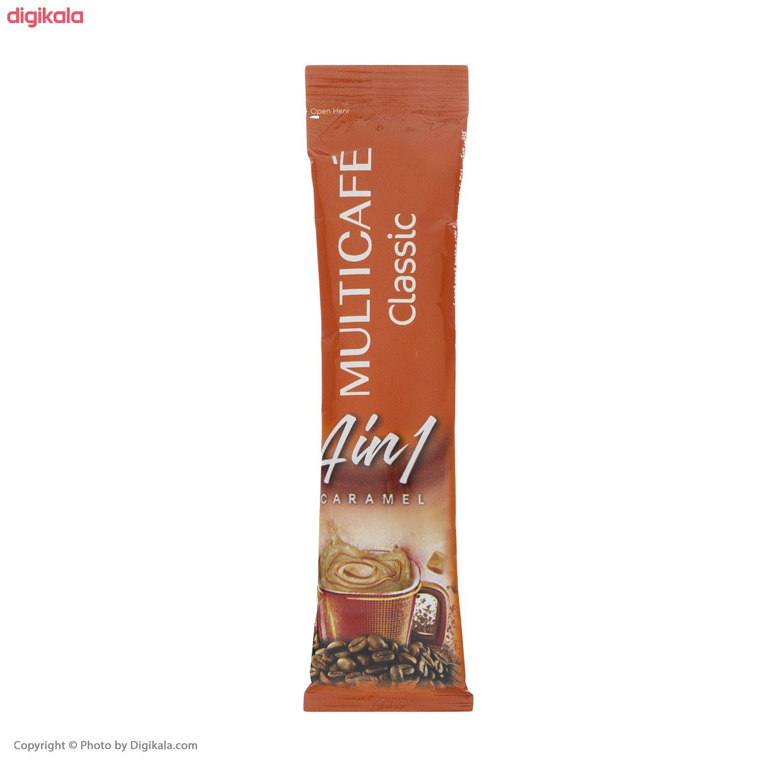 پودر قهوه فوری 1 × 4 کلاسیک مولتی کافه - 18 گرم بسته 24 عددی main 1 2