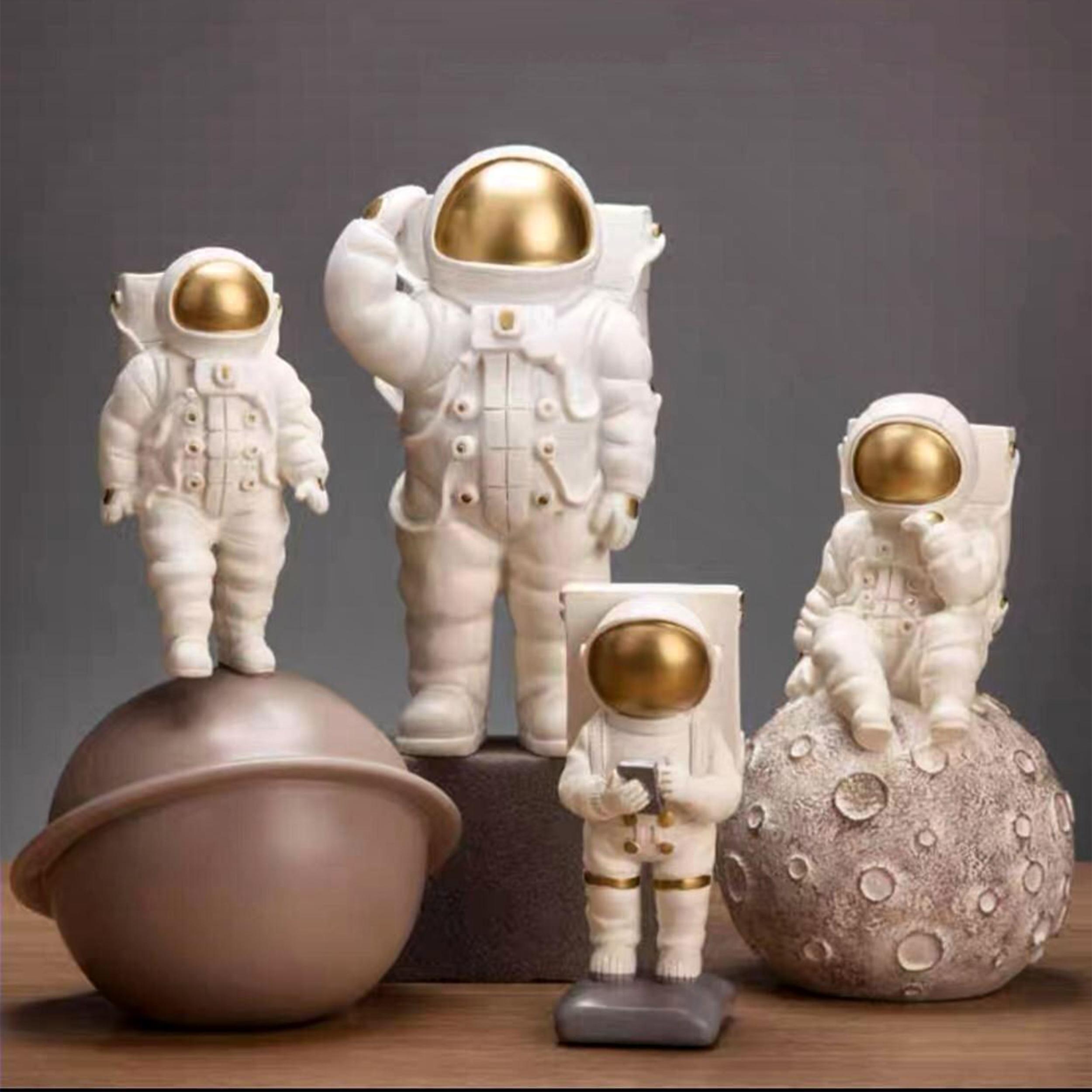 مجسمه مدل فضانورد مجموعه ۴ عددی