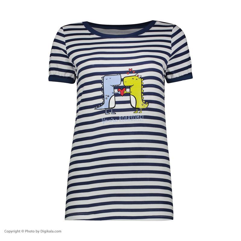 ست تی شرت و شلوار زنانه ناربن مدل 1521357-59