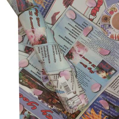 کاغذ کادو ایلیا گرافیک کد 244 بسته 5 عددی