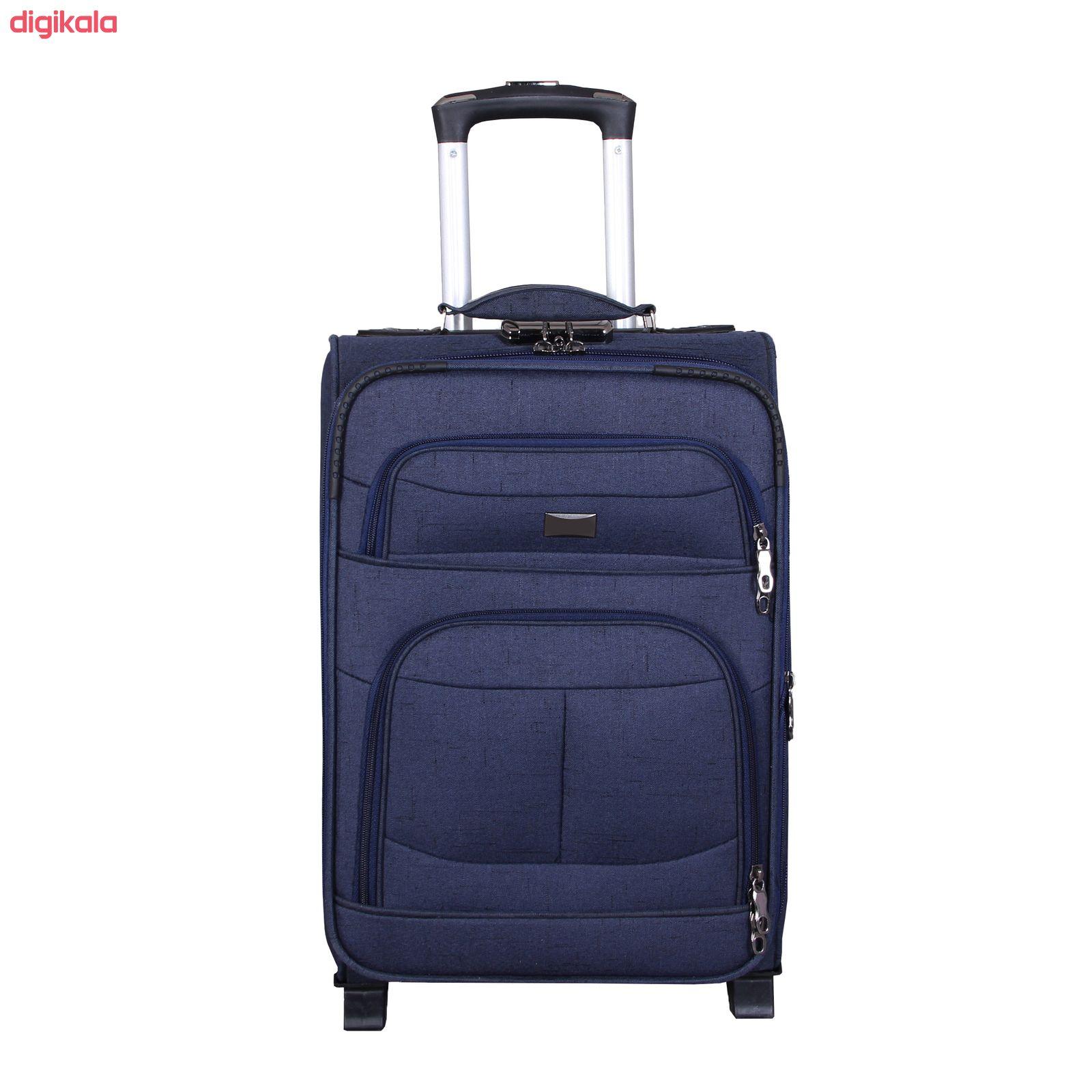 مجموعه سه عددی چمدان کد 2301A main 1 5