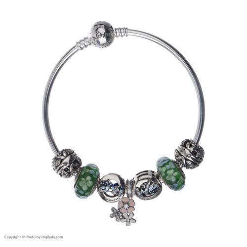 دستبند نقره زنانه پاندورا کد BNG474S0