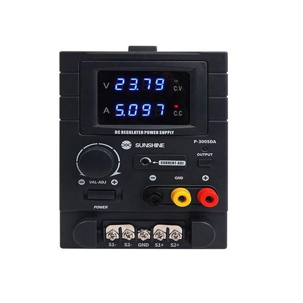 دستگاه منبع تغذیه 30 ولت 5 امپر سانشاین مدل 3005DA