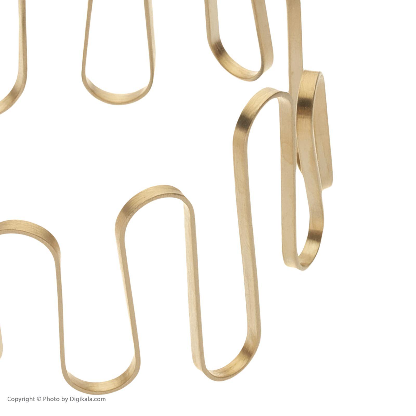 دستبند طلا زنانه سنجاق مدل x089886 -  - 5