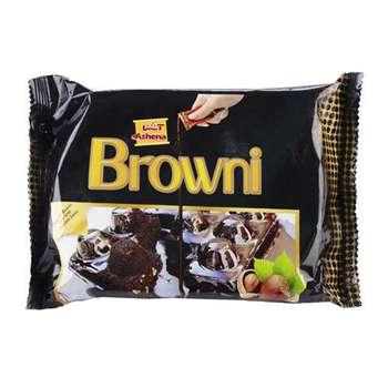 کیک براونی فندق دار با سس شکلات آشنا- 245 گرم