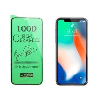 محافظ صفحه نمایش سرامیکی مدل FLCRG01me مناسب برای گوشی موبایل اپل iPhone X