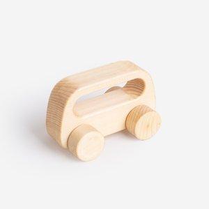 اسباب بازی چوبی مدل ماشین 43011